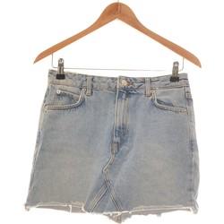 Vêtements Femme Jupes Mango Jupe Courte  34 - T0 - Xs Bleu