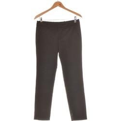 Vêtements Femme Chinos / Carrots Zara Pantalon Droit Femme  36 - T1 - S Noir