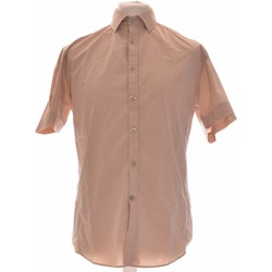 Vêtements Homme Chemises manches longues Brice Chemise Manches Courtes  40 - T3 - L Beige