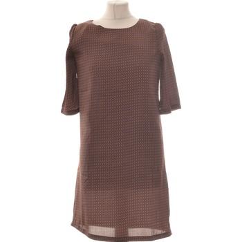 Vêtements Femme Robes courtes School Rag Robe Courte  34 - T0 - Xs Marron