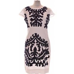 Vêtements Femme Robes courtes Almatrichi Robe Courte  38 - T2 - M Blanc