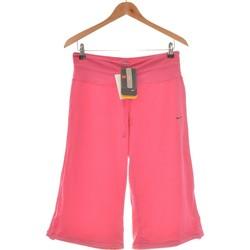 Vêtements Femme Pantacourts Nike Pantacourt Femme  36 - T1 - S Rose