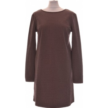 Vêtements Femme Robes courtes Mango Robe Courte  36 - T1 - S Marron