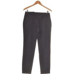 Vêtements Femme Chinos / Carrots Zara Pantalon Slim Femme  36 - T1 - S Bleu