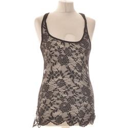 Vêtements Femme Tops / Blouses Bershka Débardeur  38 - T2 - M Noir