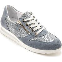 Chaussures Femme Baskets basses Pediconfort Baskets aérosemelle  amovible bleuciel