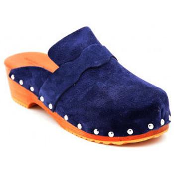 Chaussures Femme Sabots Sandro Rosi 8408 Bleu