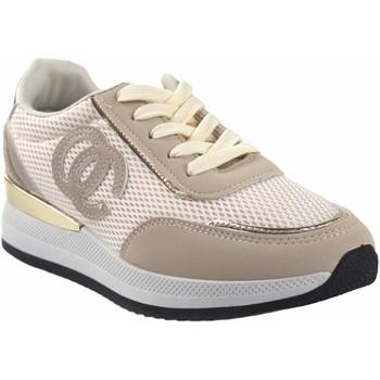 Chaussures Femme Baskets basses Bienve abx028 beige Blanc