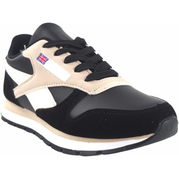 Chaussures Femme Baskets basses Bienve Chaussure femme  abx080 noir Rose