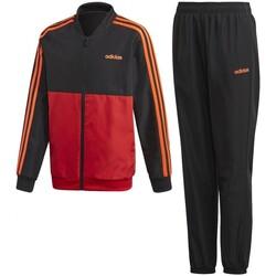 Vêtements Garçon Ensembles de survêtement adidas Originals Yb Ts Woven Rouge