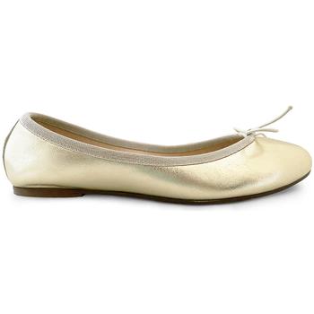 Chaussures Femme Ballerines / babies Ballerette MONTI034-001-050 Dorées