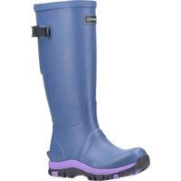 Chaussures Femme Bottes de pluie Cotswold  Bleu