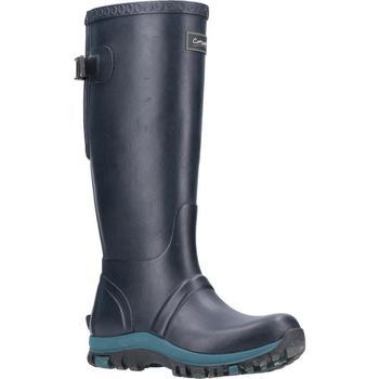 Chaussures Femme Bottes de pluie Cotswold  Bleu marine