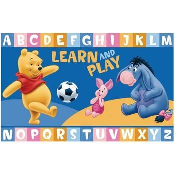 Maison & Déco Tapis Unamourdetapis Tapis enfant Winnie Learn And Play Bleu 50x80 cm Bleu