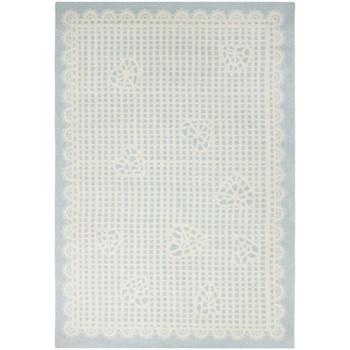Maison & Déco Tapis Kids World Tapis enfant Marie Line Bleu 100x160 cm Bleu