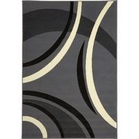 Maison & Déco Tapis Dezenco Tapis design et moderne Bc Joyle Gris 60x110 cm Gris
