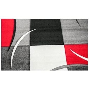 Maison & Déco Tapis Unamourdetapis Tapis design et moderne Diamond Comma Rouge 160x230 cm Rouge