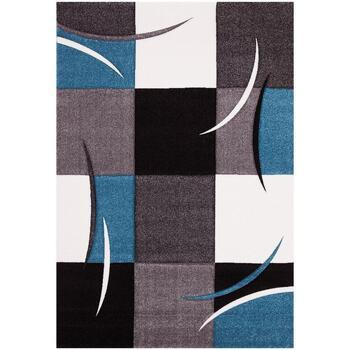 Maison & Déco Tapis Unamourdetapis Tapis design et moderne Diamond Comma Bleu 140x200 cm Bleu