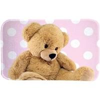 Maison & Déco Enfant Tapis House Of Kids Tapis enfant Ultra Doux Teddy Rose 70x95 cm Rose
