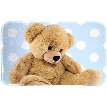 Tapis House Of Kids Tapis enfant Ultra Doux Teddy Bleu 70x95 cm