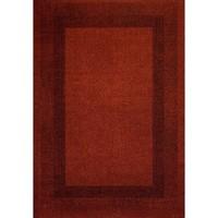 Maison & Déco Tapis Dezenco Tapis design et moderne Chester Rouge 80x150 cm Rouge