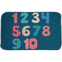 Maison & Déco Enfant Tapis House Of Kids Tapis enfant Ultra Doux Chiffres Bleu 70x95 cm Bleu
