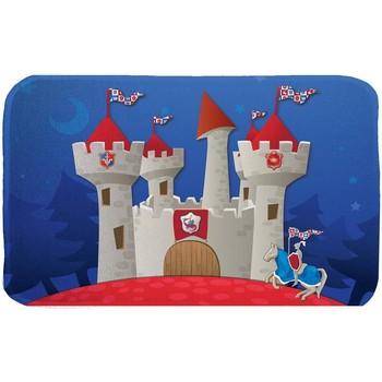 Tapis House Of Kids Tapis enfant Ultra Doux Castel Bleu 70x95 cm