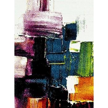 Maison & Déco Tapis Unamourdetapis Tapis design et moderne Belo 3 Crème 60x110 cm Crème