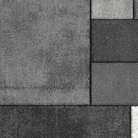 Maison & Déco Tapis Unamourdetapis Tapis design et moderne Brillance Geometrique Gris 120x170 cm Gris