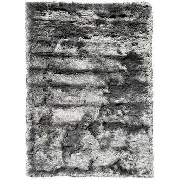 Maison & Déco Tapis Unamourdetapis Tapis shaggy poils long Sg Fin Gris 90x160 cm Gris