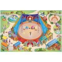 Maison & Déco Tapis House Of Kids Tapis enfant Connecte Cirque Multicolore 100x150 cm Multicolore