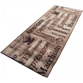 Maison & Déco Tapis Unamourdetapis Tapis de cuisine Cafe Love Beige 67x180 cm Beige