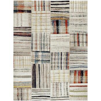 Maison & Déco Tapis Unamourdetapis Tapis design et moderne Morocco Carre Beige 160x230 cm Beige