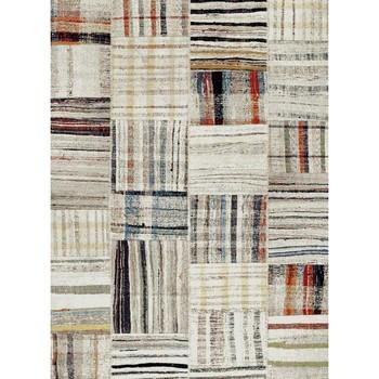 Maison & Déco Tapis Unamourdetapis Tapis design et moderne Morocco Carre Beige 200x290 cm Beige
