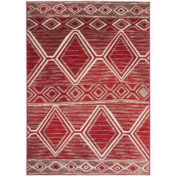 Maison & Déco Tapis Unamourdetapis Tapis design et moderne Bc Berbere Rouge 80x150 cm Rouge