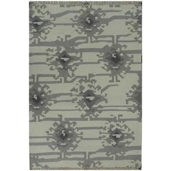 Maison & Déco Tapis Dezenco Tapis kilim Kmesar Gris 125x185 cm Gris