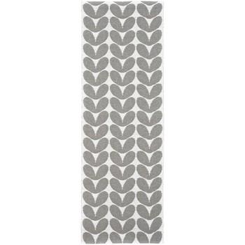 Maison & Déco Tapis Brita Sweden Tapis kilim Karin Gris 70x200 cm Gris