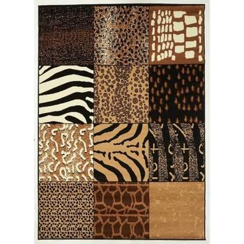 Maison & Déco Tapis Unamourdetapis Tapis design et moderne Bc Savana Patchwork Beige 120x170 cm Beige
