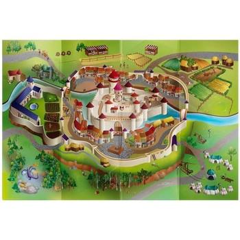 Tapis House Of Kids Tapis enfant Circuit Moyen-age Multicolore 100x140 cm