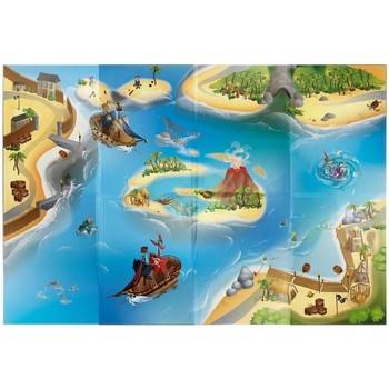 Tapis House Of Kids Tapis enfant Circuit Pirate Bleu 100x140 cm