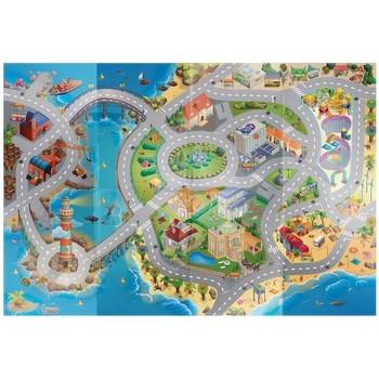 Tapis House Of Kids Tapis enfant Circuit Mer Multicolore 100x140 cm