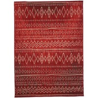 Maison & Déco Tapis Unamourdetapis Tapis design et moderne Bc Berbere 2 Rouge 200x290 cm Rouge