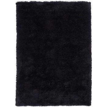 Maison & Déco Tapis Unamourdetapis Tapis shaggy poils long Sg Luxe Noir 60x110 cm Noir