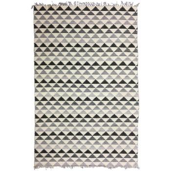 Maison & Déco Tapis Unamourdetapis Tapis design et moderne Trindilo Gris 160x230 cm Gris