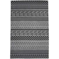 Maison & Déco Tapis Unamourdetapis Tapis design et moderne Zigzou Gris 170x240 cm Gris