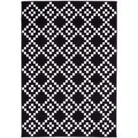 Maison & Déco Tapis Unamourdetapis Tapis design et moderne Af Lerum Noir 120x170 cm Noir