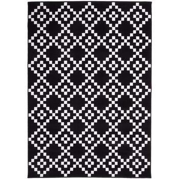 Maison & Déco Tapis Unamourdetapis Tapis design et moderne Af Lerum Noir 160x230 cm Noir