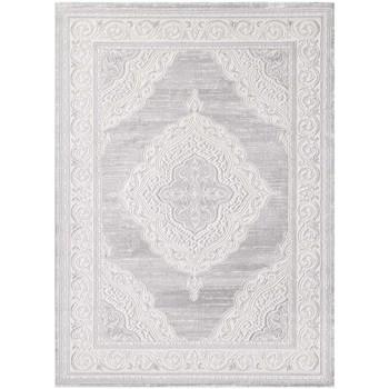 Maison & Déco Tapis Unamourdetapis Tapis d'orient Khy Falan Gris 120x160 cm Gris