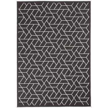 Maison & Déco Tapis Unamourdetapis Tapis exterieur Af Brika Reversible Noir 120x170 cm Noir