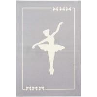 Maison & Déco Tapis Unamourdetapis Tapis enfant Af Danseuse Gris 60x110 cm Gris